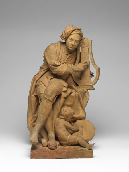 Featured image for the project: Model for a Sculpture of George Frideric Handel