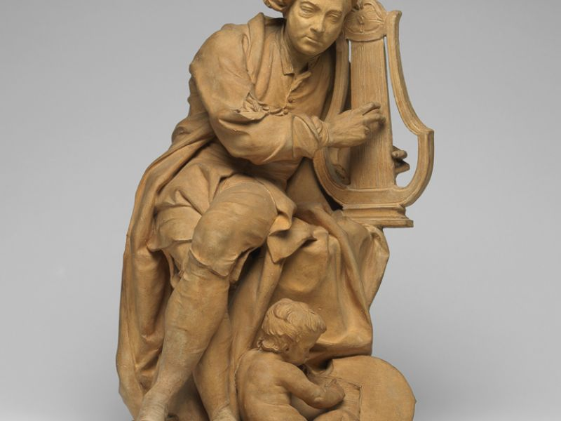 Highlight image for Model for a Sculpture of George Frideric Handel