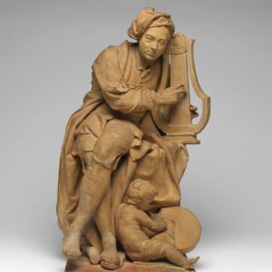 Model for a Sculpture of George Frideric Handel