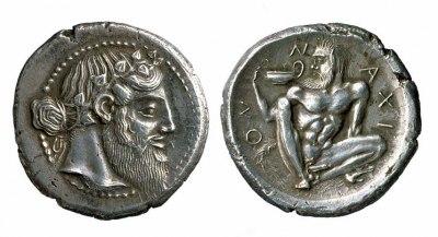 A silver Tetradrachm