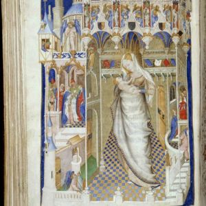 An extract from the Book of Hours