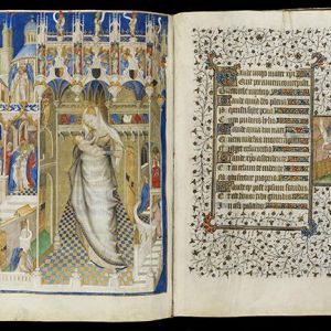 A section from the Book of Hours