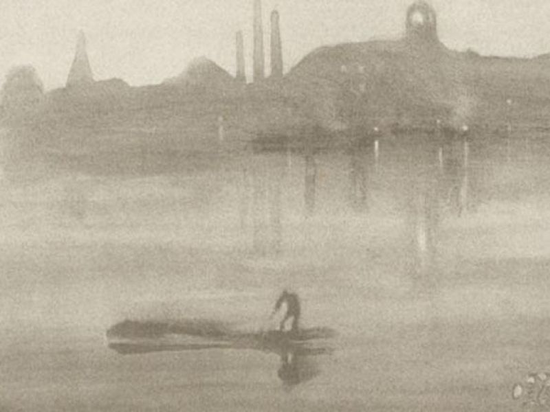 A highlight image for The Fitzwilliam focuses on the prints of Whistler