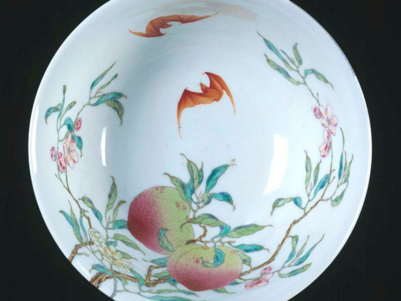 Chinese porcelain bowl, 1736 – 1795