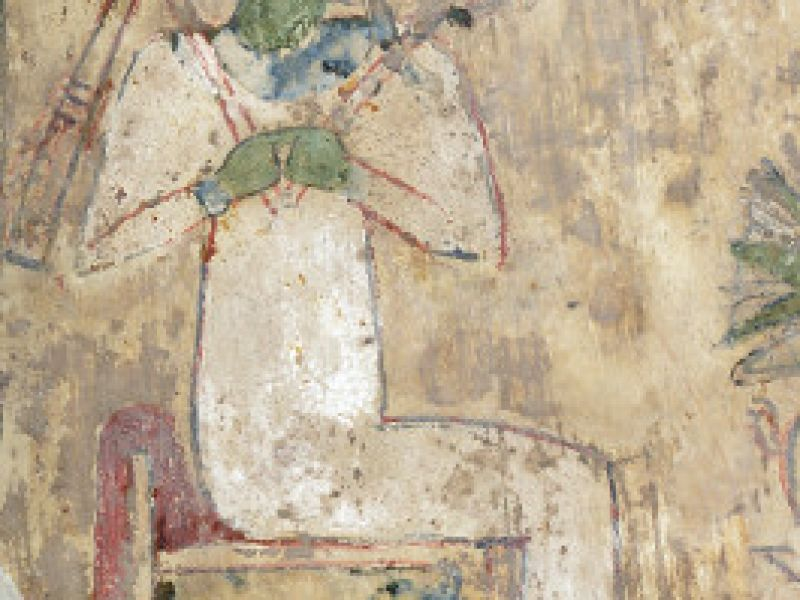 A depiction of Osiris