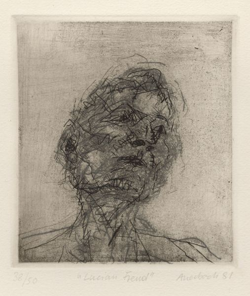 Featured image for the project: Frank Auerbach: Etchings and Drypoints 1954–2006