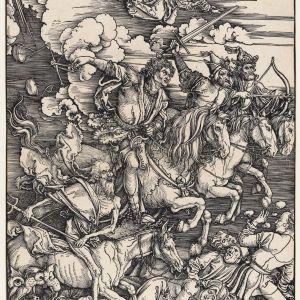 Dürer's 'Four horsemen of the Apocalypse'