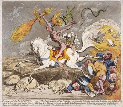 Presages of the Millennium, published June 4th, 1795