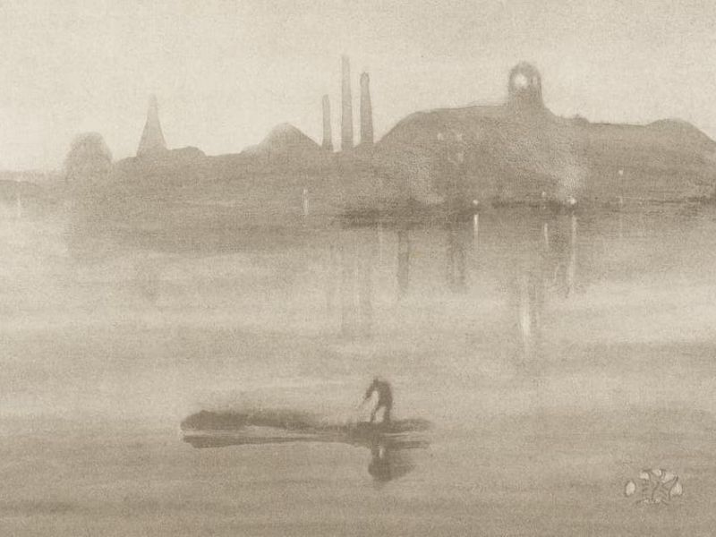 Highlight image for Palaces in the Night: The urban landscape in Whistler's prints