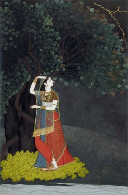A lady waiting for her lover, c.1775