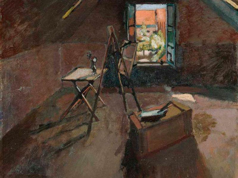 Studio under the Eaves, 1903