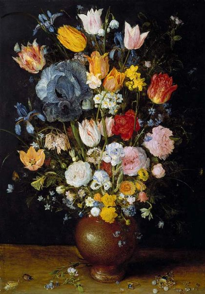 Featured image for the project: A Vase of Flowers