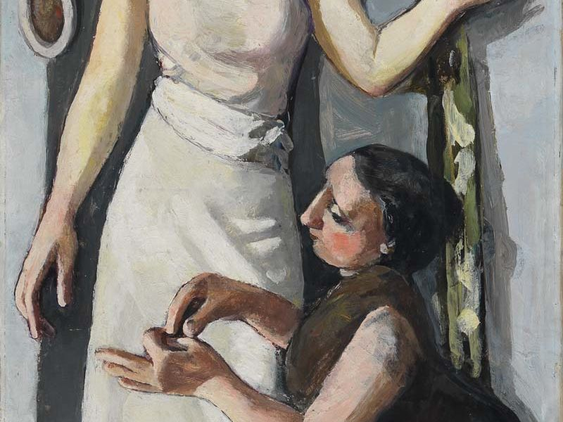 At the Dressmaker's, 1930 © 2020 Marie-Louise von Motesiczky Charitable Trust