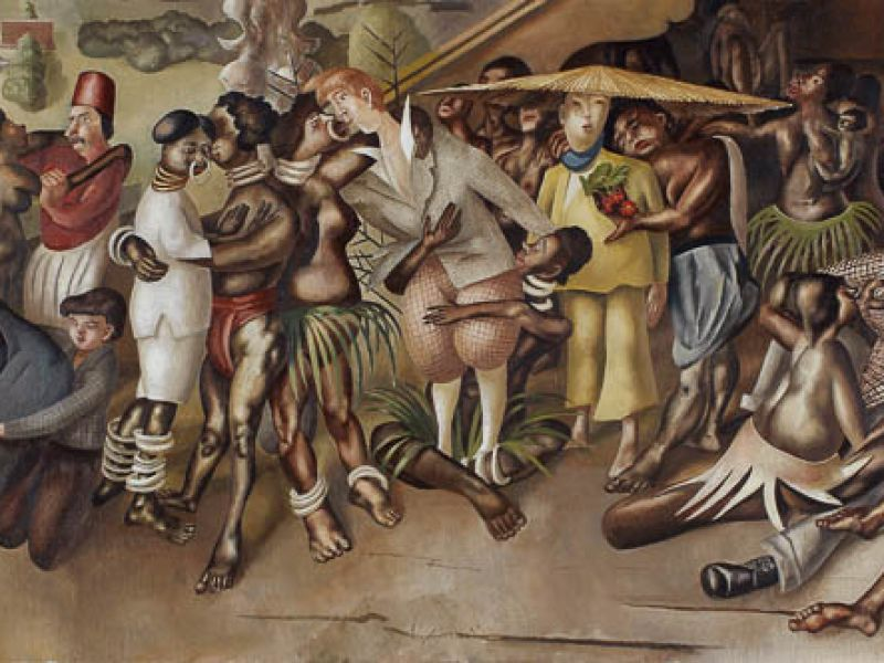 Love Among the Nations by Stanley Spencer (PD.967-1963)