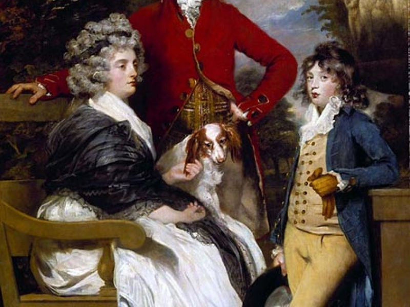 The Braddyll Family, 1789