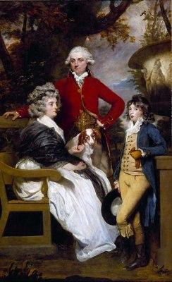 The Braddyll Family, 1789