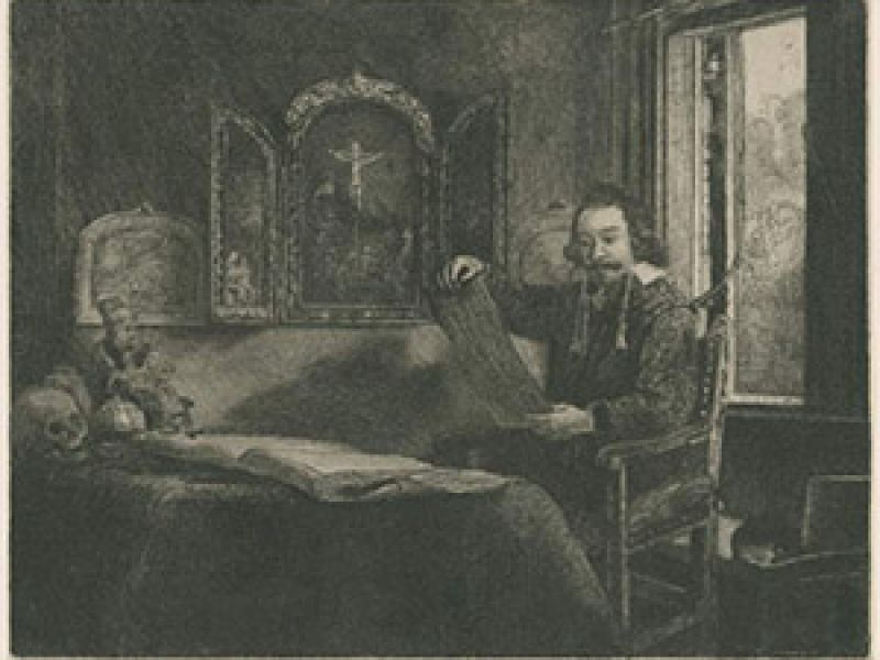 Highlight image for Degas, Desboutin and Rembrandt: parallels in prints