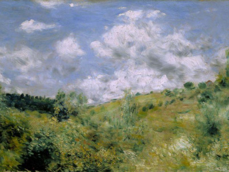 Pierre-Auguste Renoir, The Gust of Wind, c.1872