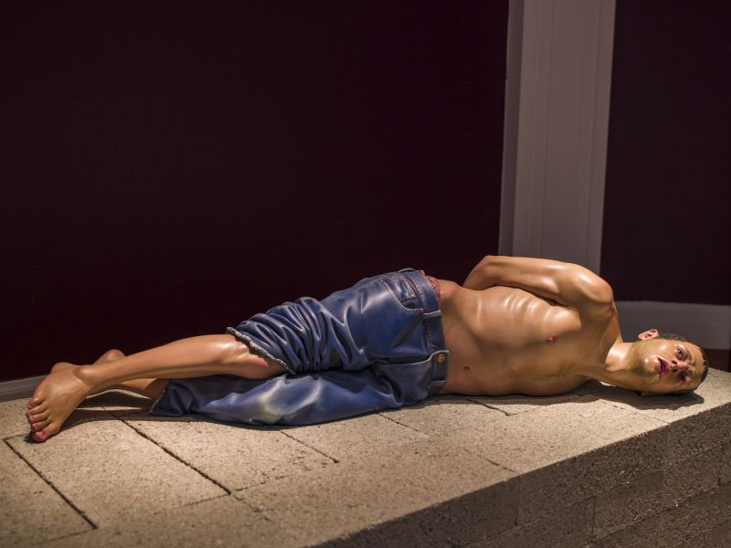 A highlight image for Sensual/Virtual: Two Coloured Sculptures