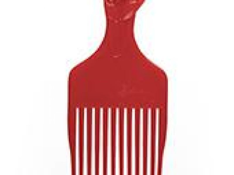 Black Power Salute Afro Comb