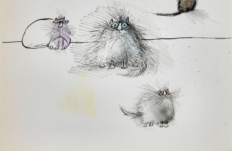 Featured image for the project: Searle and Caricature - Responses from Caricaturists Today