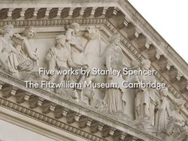 A highlight image for Five works by Stanley Spencer