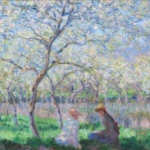 Springtime by Monet