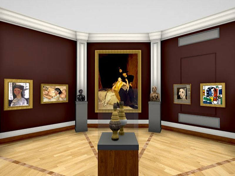 A highlight image for Gallery 1: British and European Art, 19th–20th Century