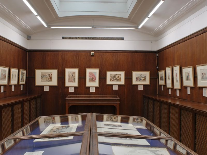 A highlight image of Gallery 16 - the Charrington Print room