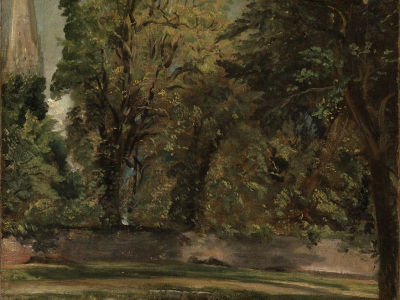 Salisbury Cathedral by Constable (2383)