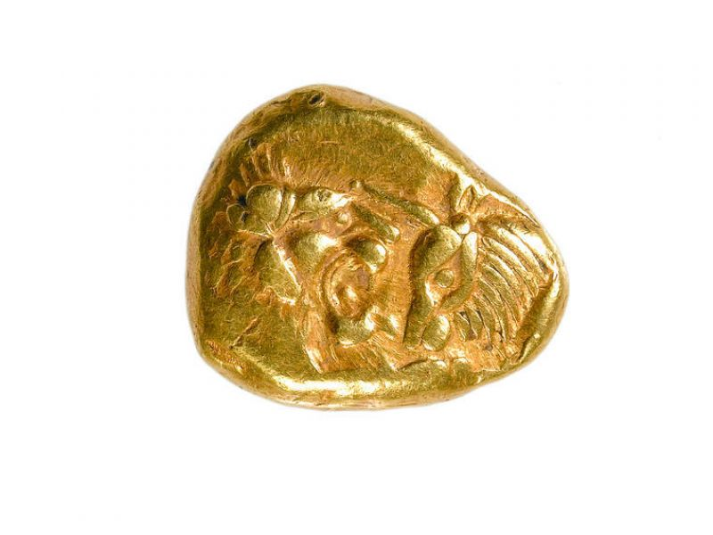 A gold stater of Croesus (CM.MC.8636-R)