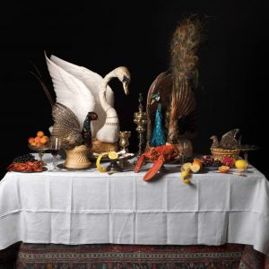 Baroque feasting table created by Ivan Day for the Feast and Fast
