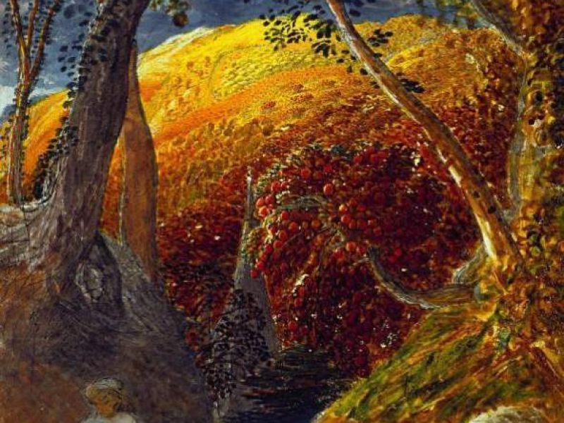 Samuel Palmer The Magic Apple Tree