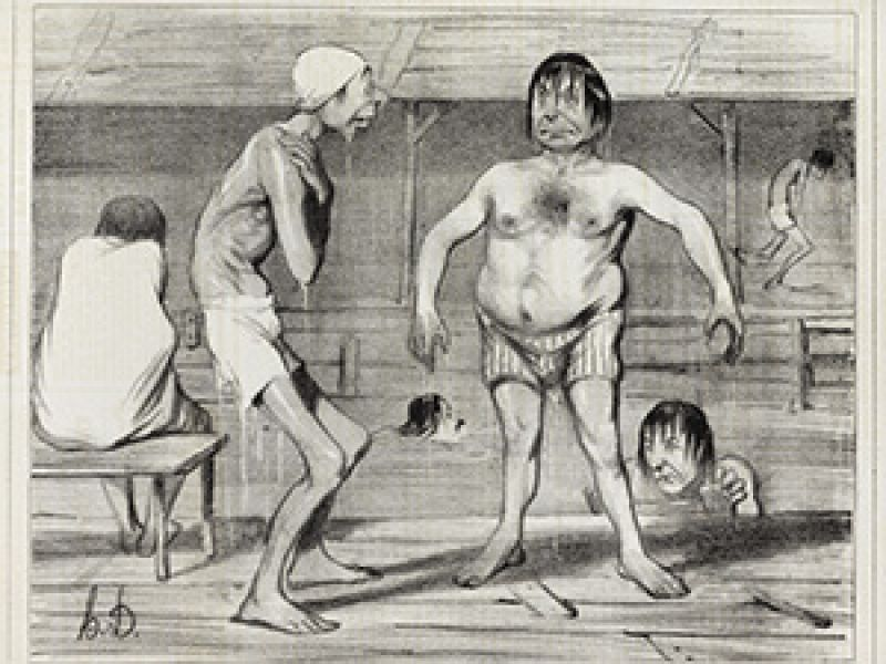 Highlight image for Degas, Caricature and Modernity: Daumier, Gavarni, Keene