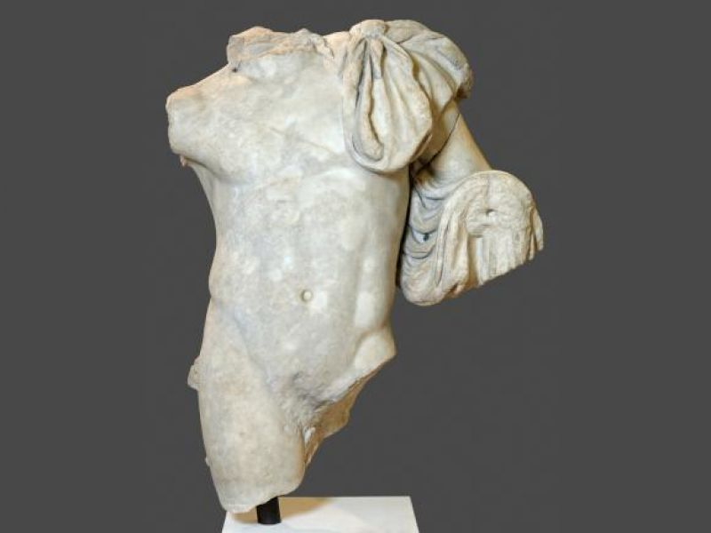 The torso of Dionysus from Salamis