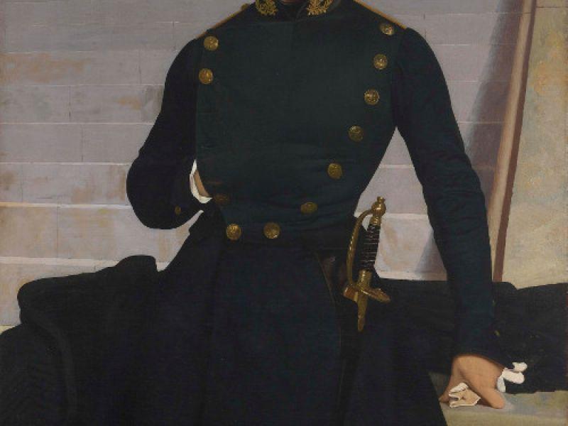 Jean-Léon Gérôme's Portrait of Claude-Armand Gérôme