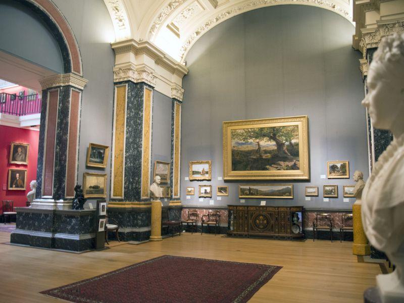 Interior of gallery 2