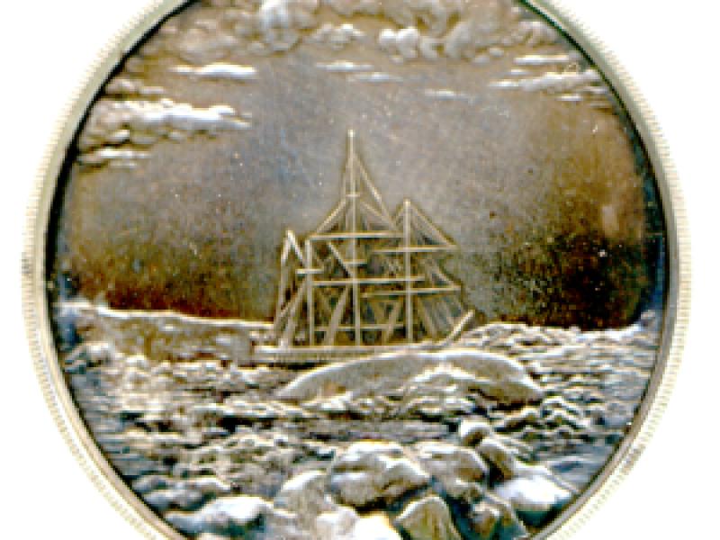 Arctic Medal, 1875-76, by L. C. Lyon, 1876