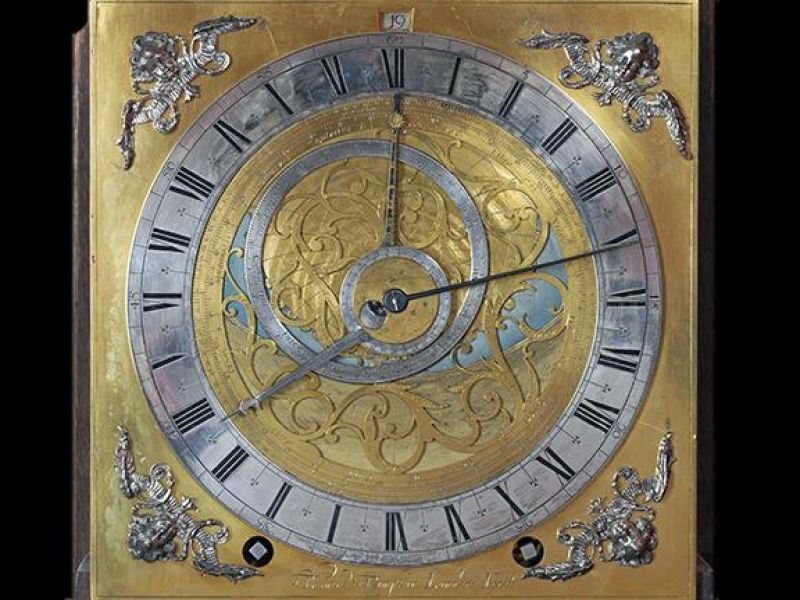 Astrolabe Longcase Clock