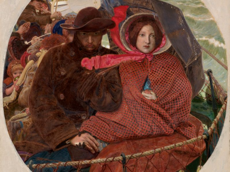The Last of England by Ford Madox Brown (1821–93)