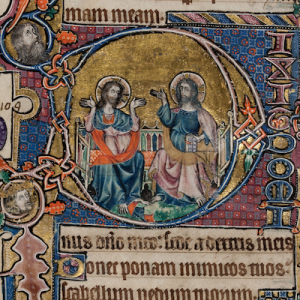An extract from the Macclesfield psalter