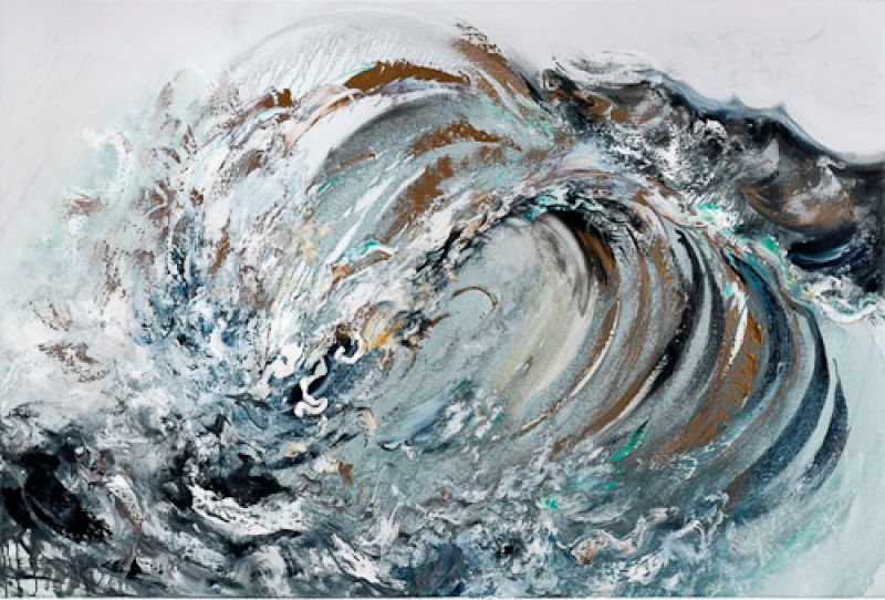 Featured image for the project: Behind the scenes of Maggi Hambling: The Wave