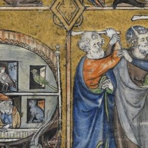 A detail from La Somme le Roi, c.1300