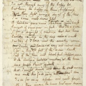 An image of the Ode to the nightingale