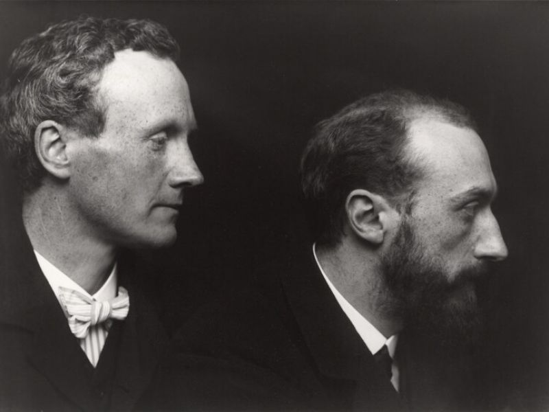 Portrait of Ricketts and Shannon, National Portrait Gallery