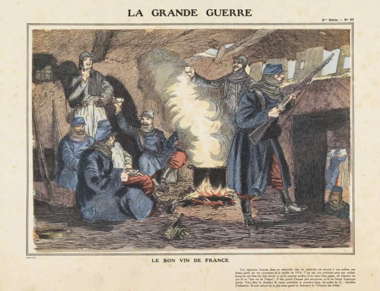 Featured image for the project: La Grande Guerre: French Prints of World War One