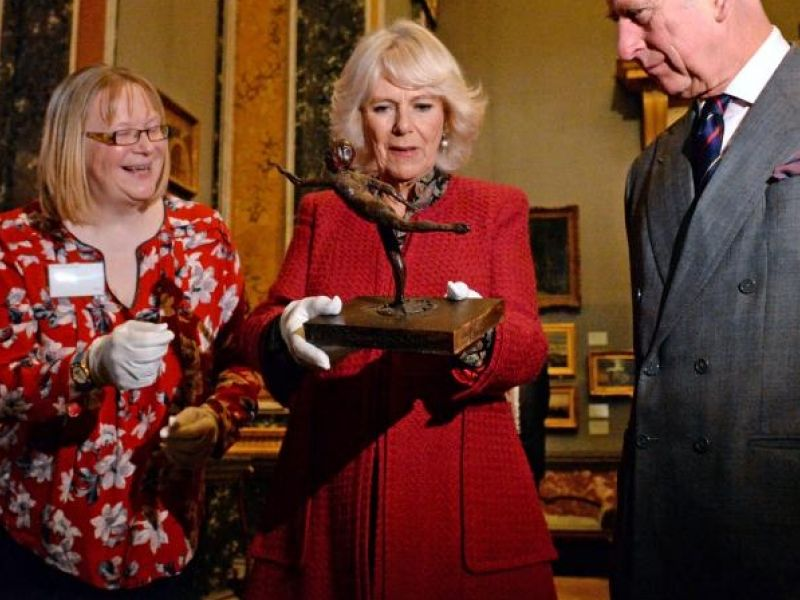 A highlight image for The Prince of Wales and The Duchess of Cornwall's visit