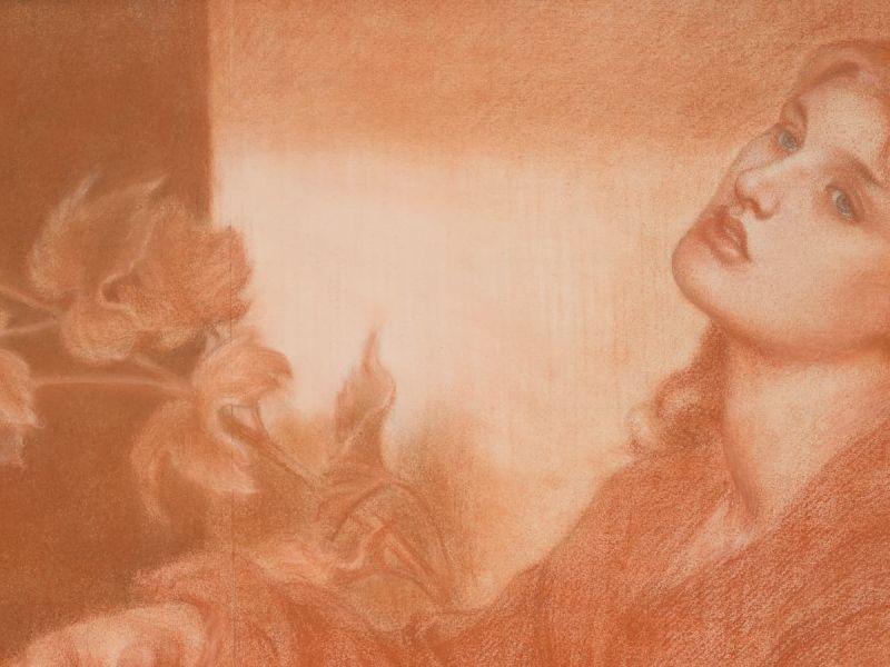 Dante Gabriel Rossetti (1828-82), Ricorditi di me che son la Pia (from Dante's Purgatorio), 1868