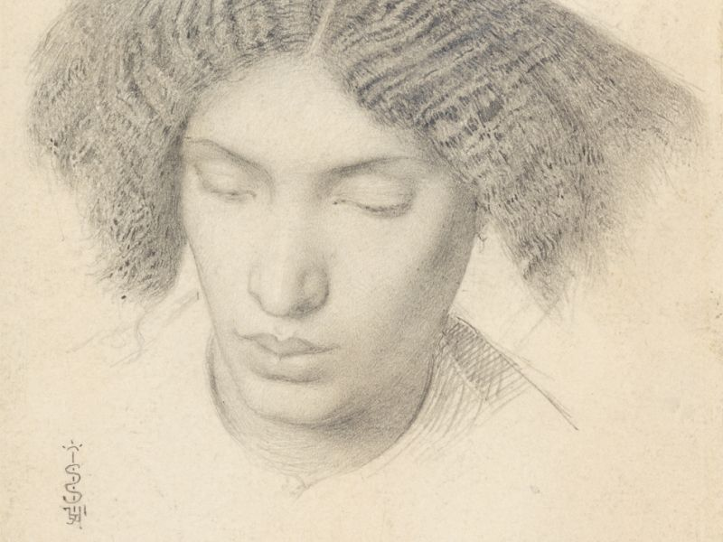 Portrait of Mrs Fanny Eaton, Simeon Solomon