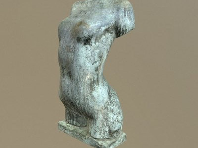 A 3D scan of a Rodin masterpiece